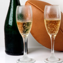 You're not allowed to wine in football. Wanna bet?