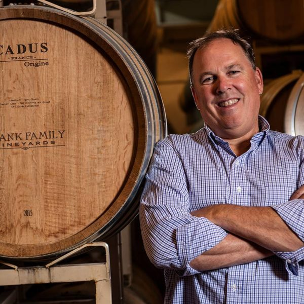 Todd Graff from Frank Family Wines