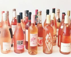Rosé wines from around the world.