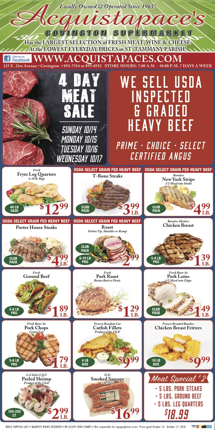 meat sale weekly ad
