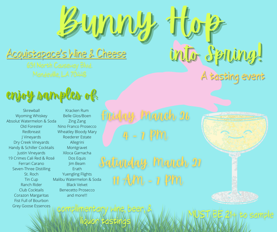 A Spring Tasting Event