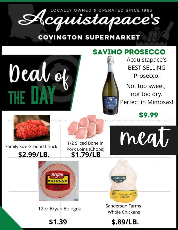 Acquistapace's Covington Supermarket Weekly AD 4-18-21 - 4-24-21 p1