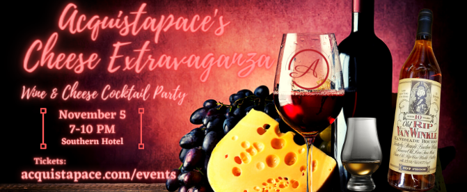 Acquistapace's Wine & Cheese Cocktail Party